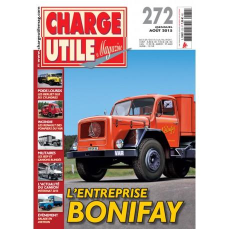 CHARGE UTILE N°272