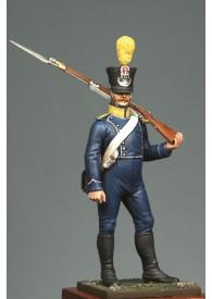 Voltigeur d'infanterie légère en tenue 1812