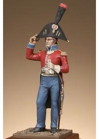 Lieutenant 25e regiment en tenue d'Egypte