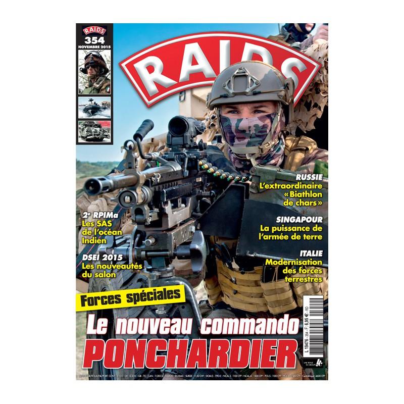 RAIDS N°354