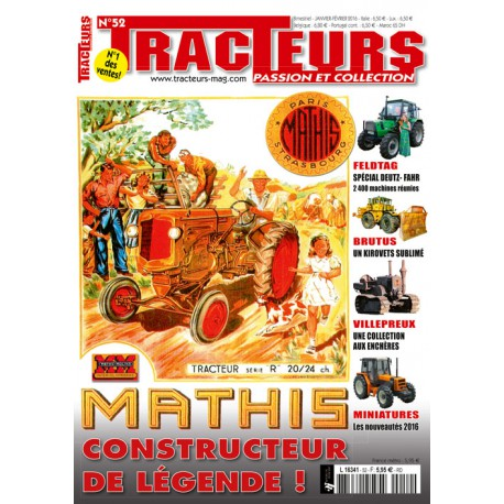 TRACTEURS N°052