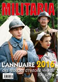 L'ANNUAIRE 2016 DES GROUPES D'HISTOIRE VIVANTES XX SIECLES