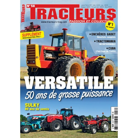 TRACTEURS N°058