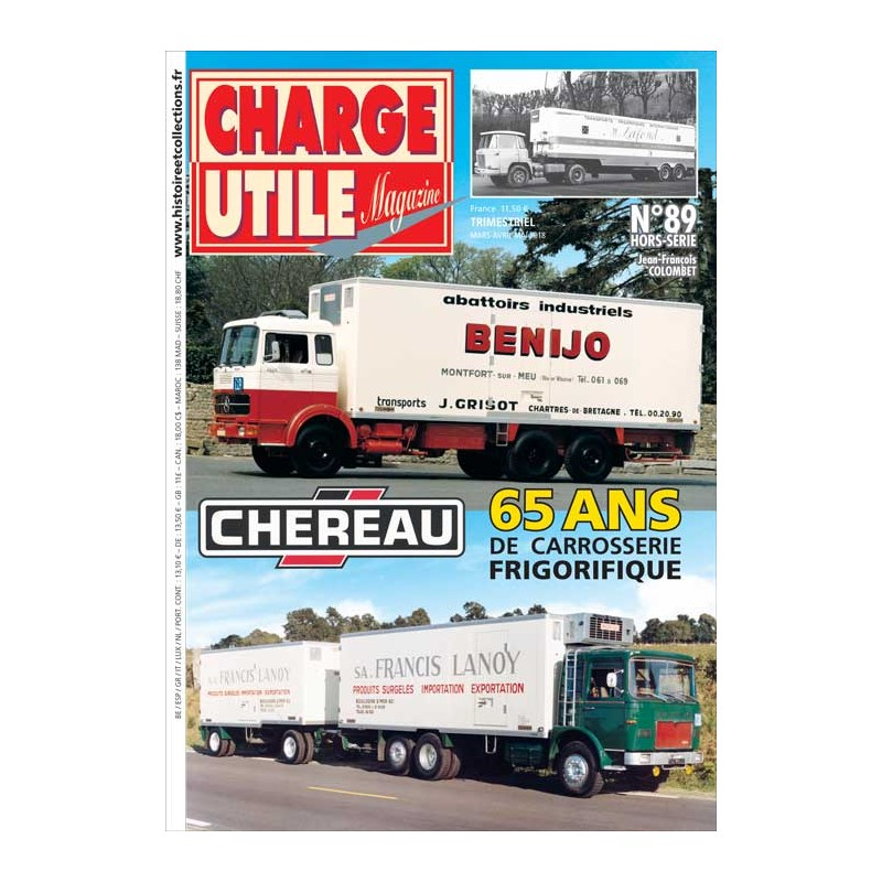 CHARGE UTILE HS N°089