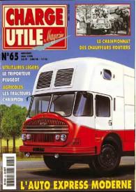 CHARGE UTILE N°065