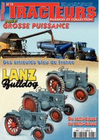 TRACTEURS PASSION & COLLECTION N°015