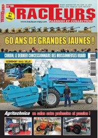 TRACTEURS PASSION & COLLECTION N°028