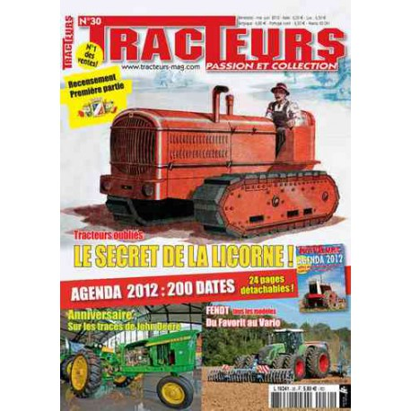 TRACTEURS PASSION & COLLECTION N°030