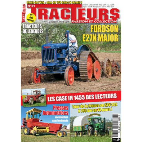 TRACTEURS PASSION & COLLECTION N°031