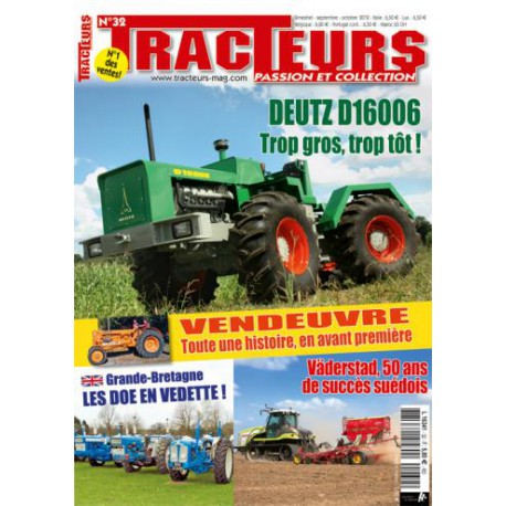 TRACTEURS PASSION & COLLECTION N°032