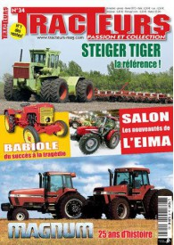TRACTEURS PASSION & COLLECTION N°034