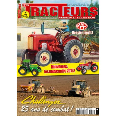 TRACTEURS PASSION & COLLECTION N°035