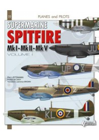 PLANES & PILOTS N°9 SUPERMARINE SPITFIRE-VOLUME 1- ENGLISH