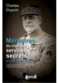MEMOIRE DU CHEF DES SERVICES SECRETS