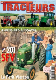 TRACTEURS PASSION & COLLECTION N°003