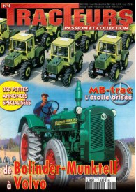 TRACTEURS PASSION & COLLECTION N°004
