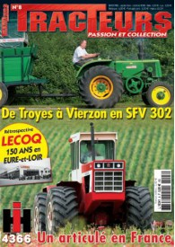 TRACTEURS PASSION & COLLECTION N°008
